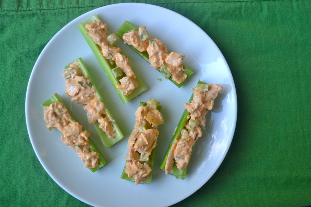 Buffalo Chickcn salad