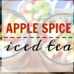Autumn Apple Spice Iced Tea