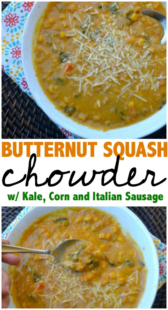 butternut-squash-chowder-with-kale-corn-and-italian-sausage