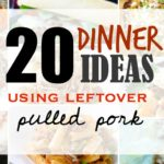 20 Easy dinner ideas using leftover pulled pork