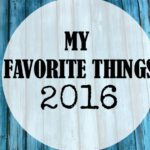 Favorite things in 2016