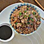 Pressure Cooker Moo Shu Pork