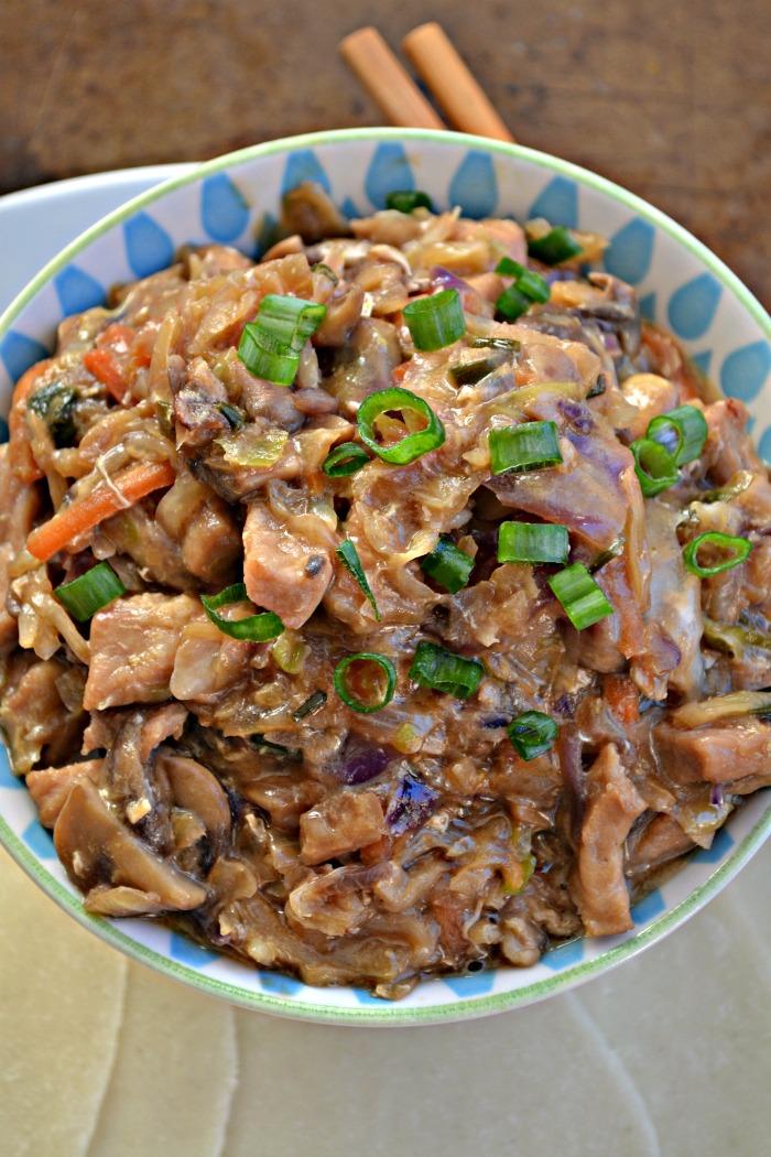 Pressure Cooker Moo Shu Pork – Make the Best of Everything