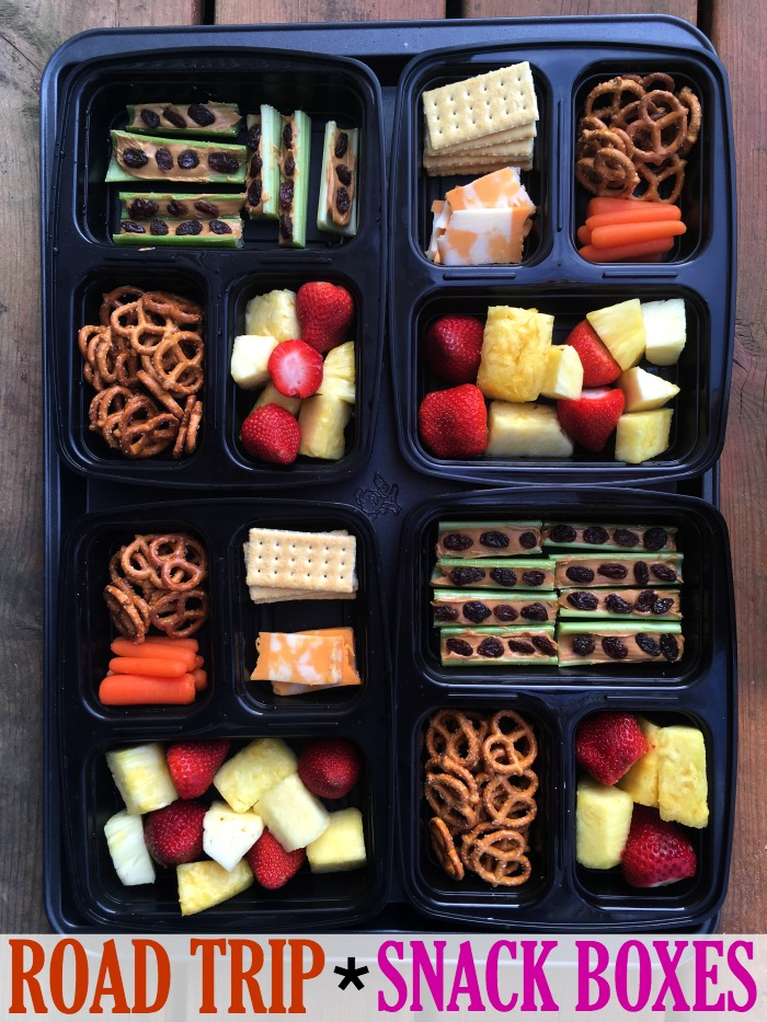 Road Trip Snack Boxes- And Preparing Your Car For Summer ...