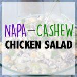Napa Cashew Chicken Salad