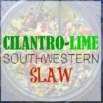 Cilantro-Lime Southwestern Slaw