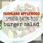 Farmland Applewood Smoked Bacon-Bleu Burger Salad