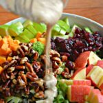 Apple Cider and Cinnamon Broccoli Salad