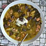 Instant Pot Chicken Gyro Soup