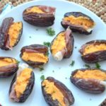 Ham and Cheddar Stuffed Dates