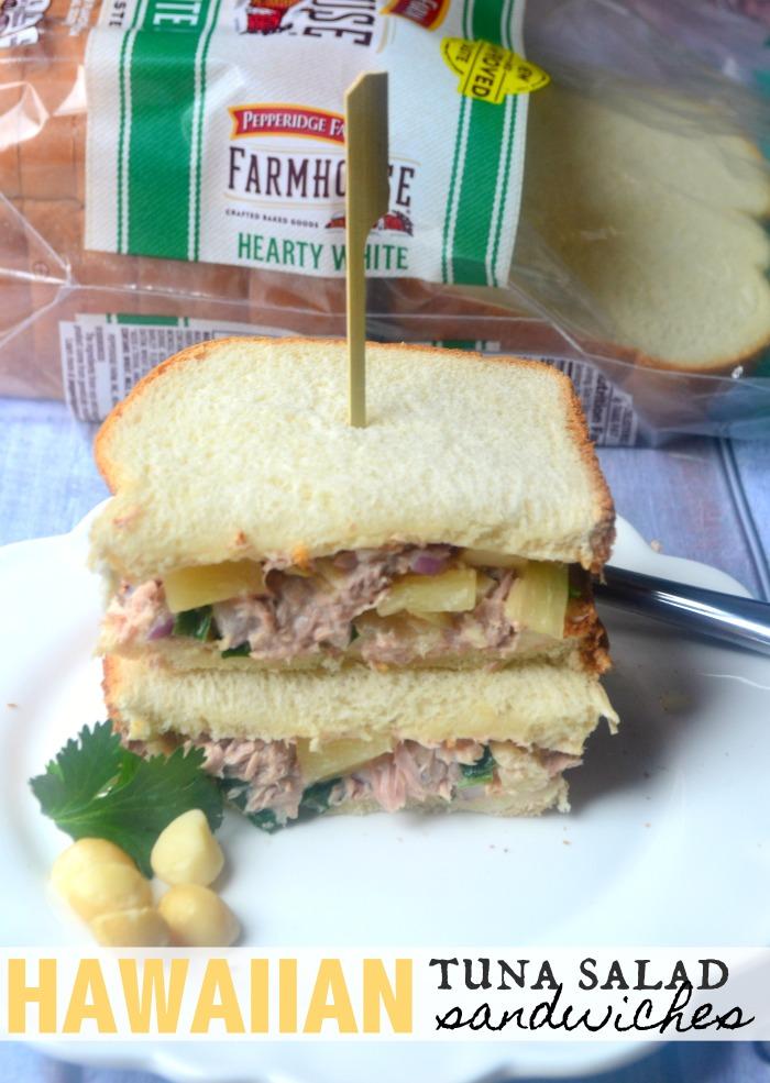 Hawaiian Tuna Salad Sandwiches Make The Best Of Everything
