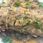 Pressure Cooker Pork Tenderloin Marsala