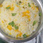 Instant Pot Mango Jalapeño Sticky Rice