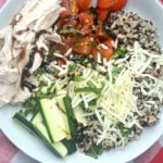 Chicken Bruschetta Quinoa Bowls