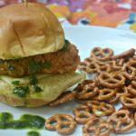 Chimichurri Crispy Chicken Sliders