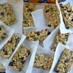 Spicy chocolate pepita granola bars