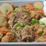 Pressure Cooker Bavarian Pork Roast