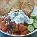 Pressure Cooker Gyro Beef Stew