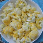 Pressure Cooker Cheesy Cauliflower