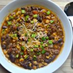 pressure cooker tomato-free chili