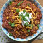 Pressure Cooker Beanless Quinoa Chili