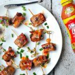 Dorothy Lynch Glazed Bacon Stuffed Dates