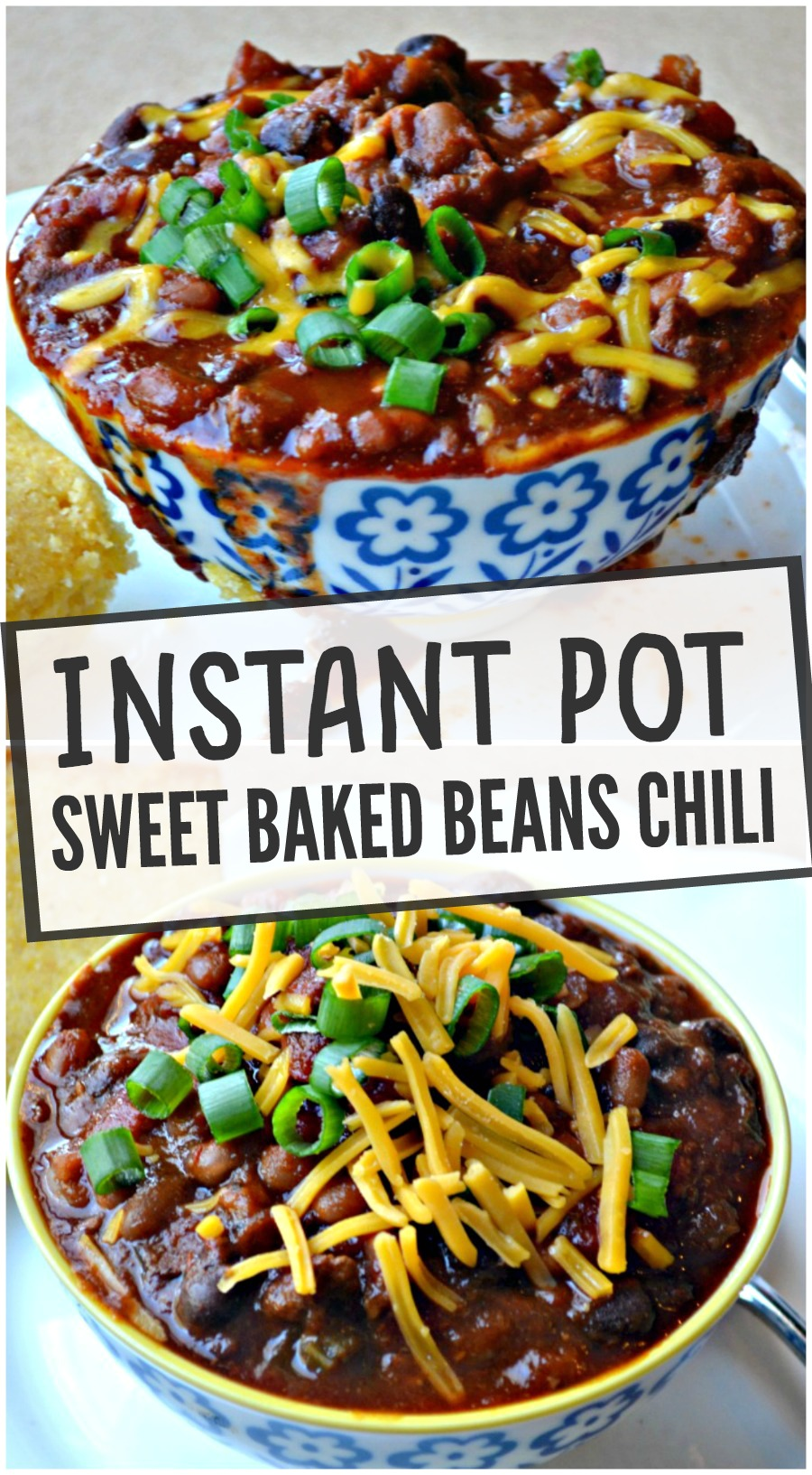Pressure Cooker Or Slow Cooker Sweet Baked Beans Chili Make The Best Of Everything