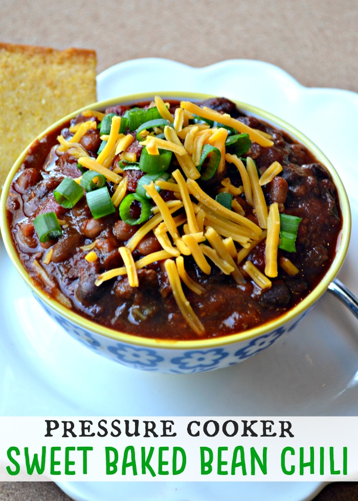 Pressure Cooker Sweet Baked Bean Chili Make The Best Of Everything