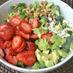 Strawberry Poppyseed Broccoli Salad