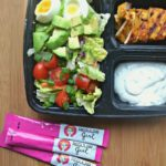 Chicken Shawarma Cobb Salad With Yogurt Sauce