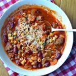 Pressure Cooker Olive Garden Pasta E Fagioli Soup