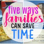 5 ways families can save time