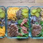 Bacon Cheeseburger Quinoa Lunch Bowls