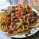 Chimichurri Steak Loaded Fries