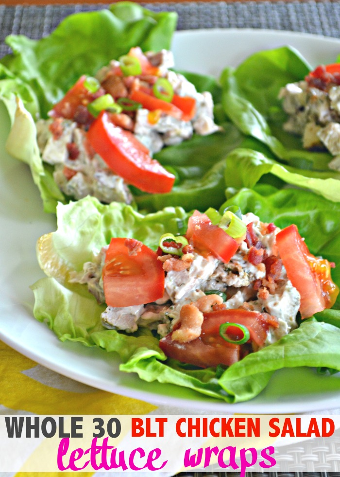 Whole 30 Bacon Lettuce Tomato Chicken Salad Make The Best Of Everything