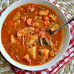 Chicken Minestrone Stew