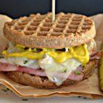 Cuban Waffle Sandwich