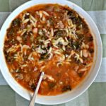 Tuscan Sausage and Orzo Soup