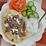 Instant Pot Ground Beef Gyros