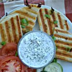 Chicken Gyro Quesadillas