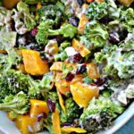 Mango Poppyseed Broccoli Salad