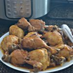 Large Batch Instant Pot Sticky Barbecue Chicken Drumsticks