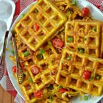 Omelet- Hash Brown Waffles