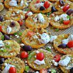 Crispy Greek Zucchini Slices