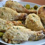 Pickle Juice Ranch Panko Baked Chicken