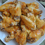 Pressure Cooker Smoky Barbecue Sticky Chicken Wings