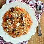 Electric Pressure Cooker Greek-Inspired Orzo With Tomatoes and Olives