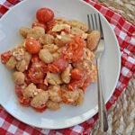 Feta Tomato Cauliflower Gnocchi