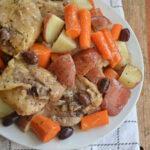 Instant Pot Greek Salad Dressing Chicken Thighs