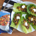 Protein Blend Ground Beef Lettuce Wraps